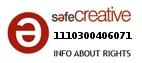 Safe Creative #1110300406071