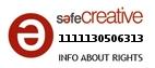 Safe Creative #1111130506313