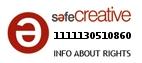Safe Creative #1111130510860