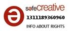 Safe Creative #1311189360960