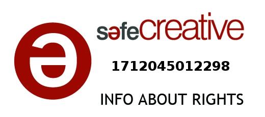 Safe Creative #1712045012298