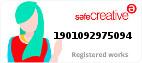 Safe Creative #1901092975094