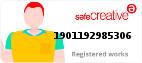 Safe Creative #1901192985306