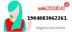 Safe Creative #1904083062261