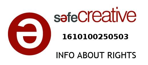 Safe Creative #1610100250503