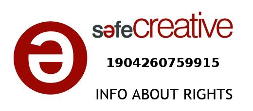 Safe Creative #1904260759915