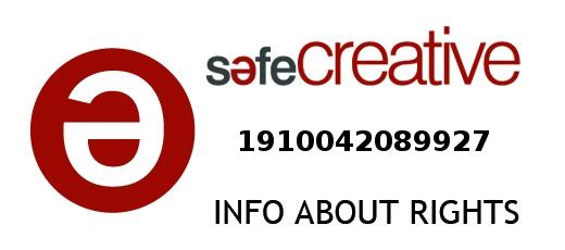 Safe Creative #1910042089927