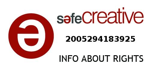 Safe Creative #2005294183925