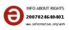 Safe Creative #2007024640401