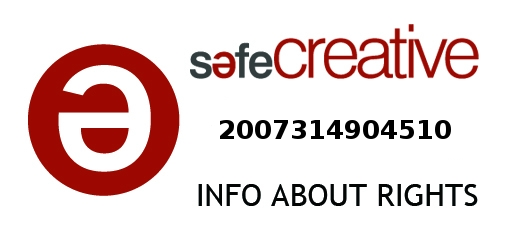 Safe Creative #2007314904510